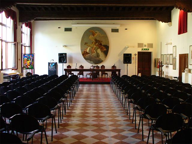 L'aula magna del LAS M.Guggenheim